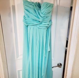 David's Bridal Dress style 10840 Spa color size 16